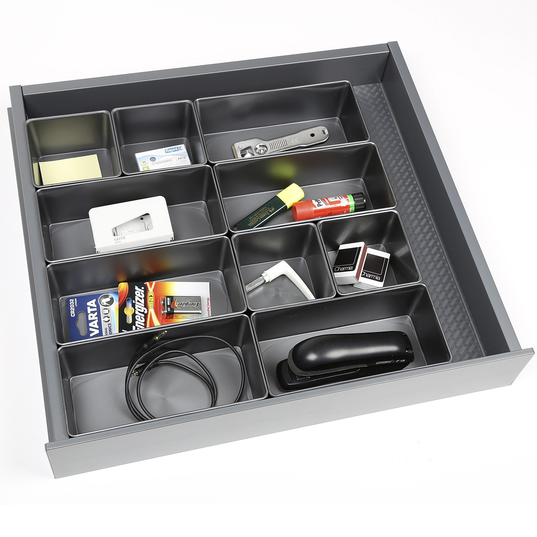 storage box 1 l stone grey lm 526s innovative storage solutions