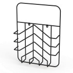 MAGAZINE RACK ARROW, BLACK LM 42