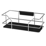 SHOWER SHELF CHROME/BLACK LM 590