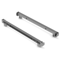 SHELF HOLDER LIST SS (2 PCS) GREY LM 99