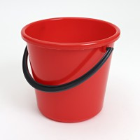 BUCKET 10 L RED LM 472
