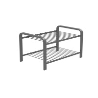 SHOE RACK SILVER 470 MM LM 390