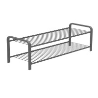 SHOE RACK SILVER 870 MM LM 392