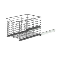 SOFT CLOSING BASKET ANTHRACITE 337x440x300 (cabinet 366-370) LM 761