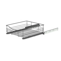 SOFT CLOSING BASKET ANTHRACITE 437x440x140 (cabinet 466-470) LM 762