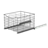 SOFT CLOSING BASKET ANTHRACITE 437x440x300 (cabinet 466-470) LM 763