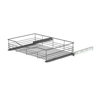 SOFT CLOSING BASKET ANTHRACITE 737x440x140 (kaappi 766-770) LM 766