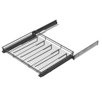 SOFT CLOSING TROUSER RACK ANTHRACITE (cabinet 566-570) LM 836