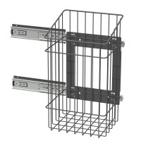 PULL-OUT LAUNDRY BASKET ANTHRACITE LM 683