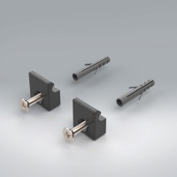 FASTENING SET IP ANTHRACITE LM 575