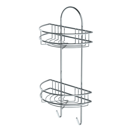 BATHROOM RACK CHROME LM 199