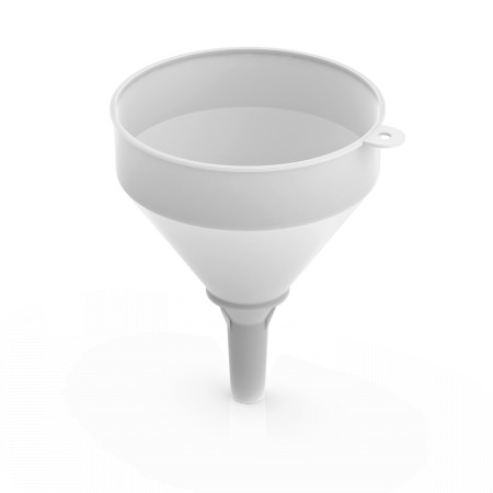 FUNNEL 210 MM NATURAL WHITE LM 537