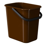 WASTE BIN 11,5 L BROWN LM 520