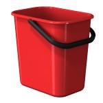 WASTE BIN 11,5 L RED LM 520