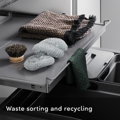 Kitchen Waste Sorting and Recycling
