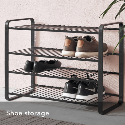 Shoe storage systems